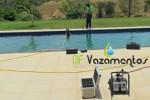 Vazamento na tubulação da piscina da E. R. M. em Brasília – DF