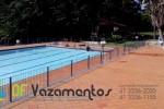 Vazamento na piscina em clube esportivo
