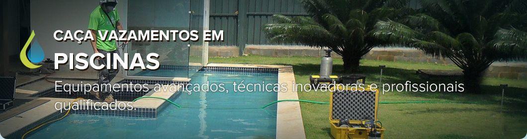 Detecção de vazamentos em piscinas. Brasília - DF, Taguatinga, Lago sul